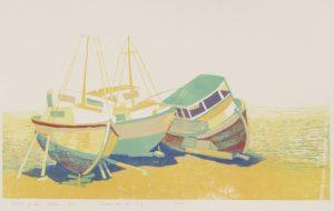 Bootjes op het droge / Boats on dry land