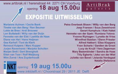Uitwisselingstentoonstelling in Voorburg en Delft